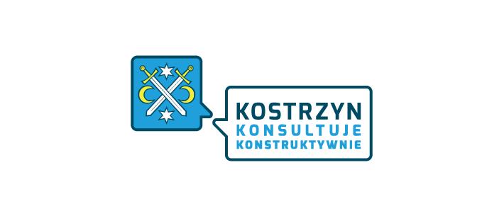 logo, konsultacje społeczne, gmina kostrzyn wielkopolski