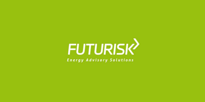 logotyp firmy doradczej, futurisk, energy advisory solutions, projektowanie identyfikacji wizualnej, warszawa
