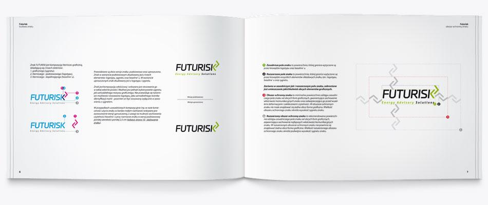 księga znaku, identyfikacji, corporate identity book