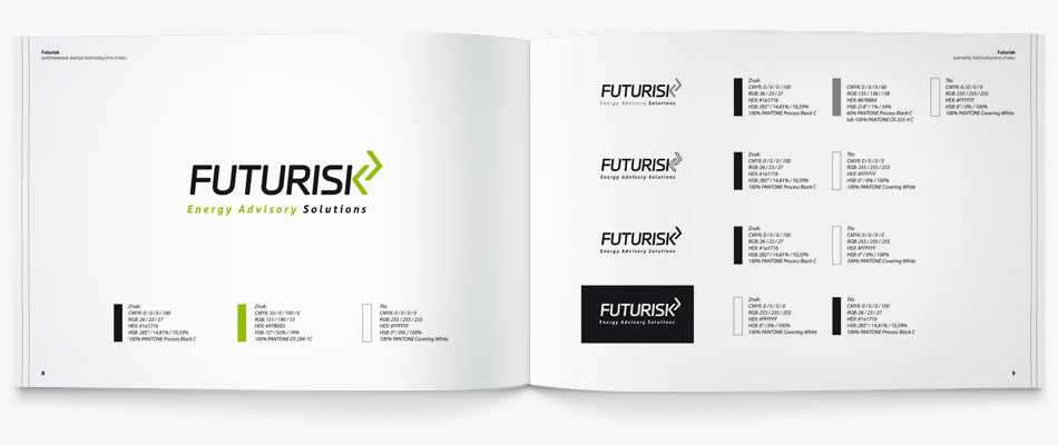 corporate identity book, ci book, warsaw, graphic design