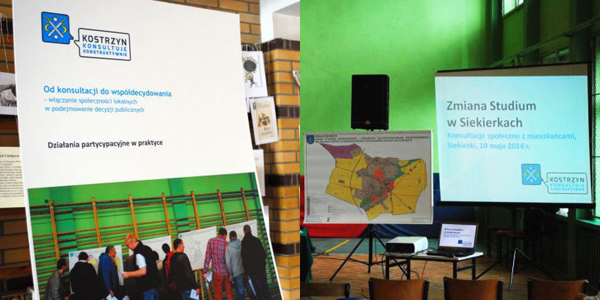 promocja gminy, powiatu, oprawa graficzna konsultacji społecznych