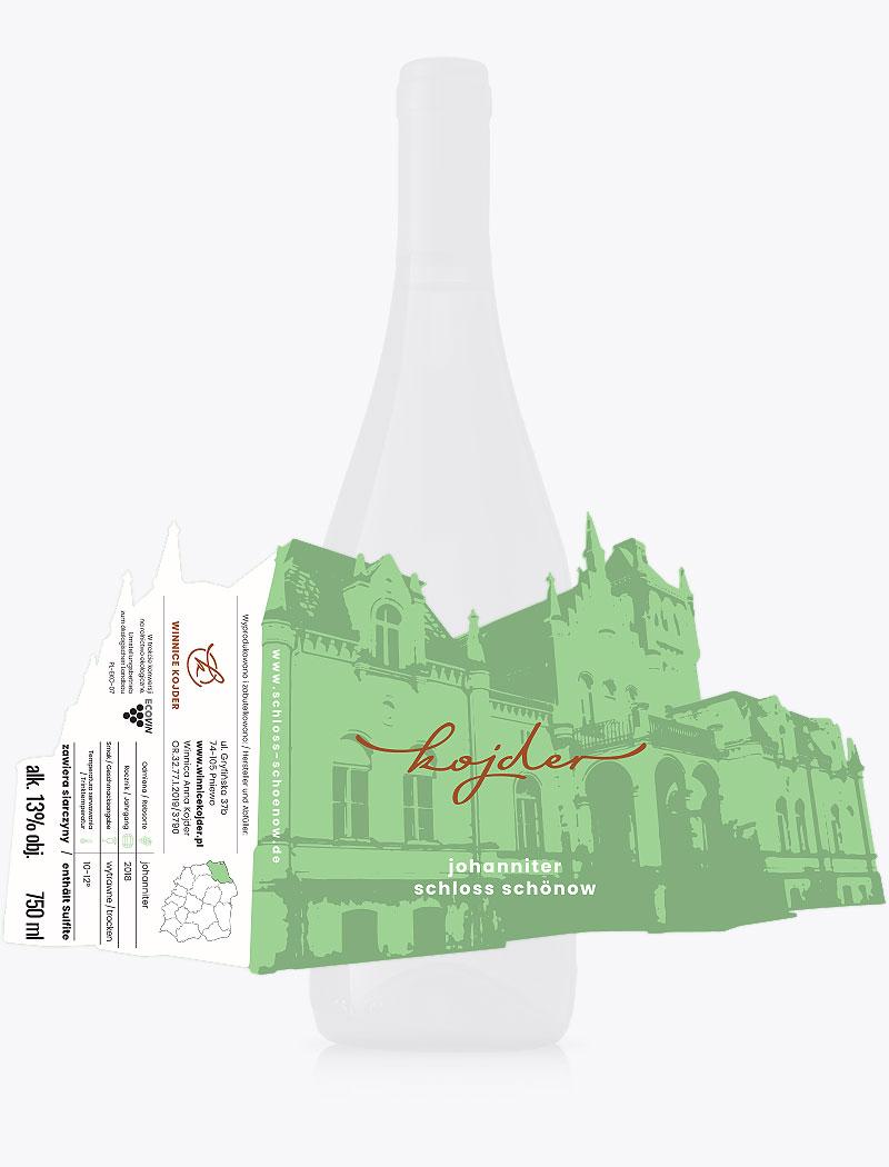 vine label design, private label