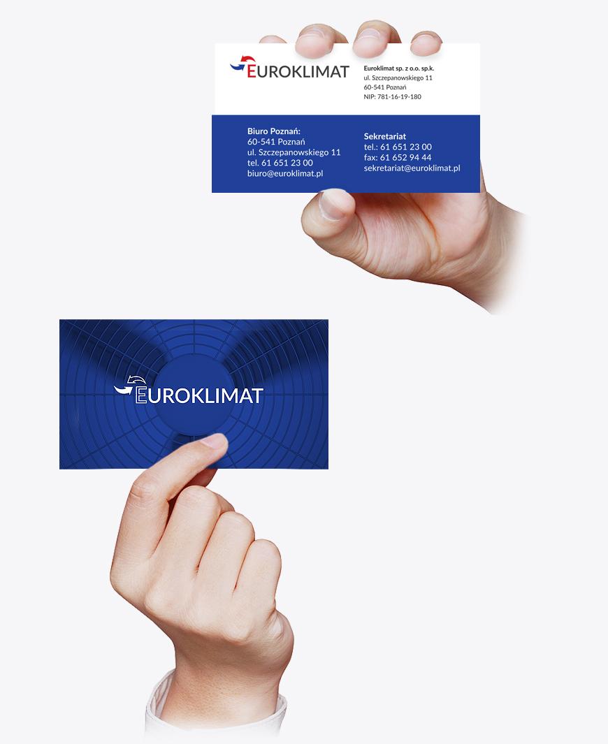 projekt wizytówki firmowej