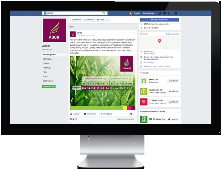 projektowanie grafiki do postów, social media, facebook
